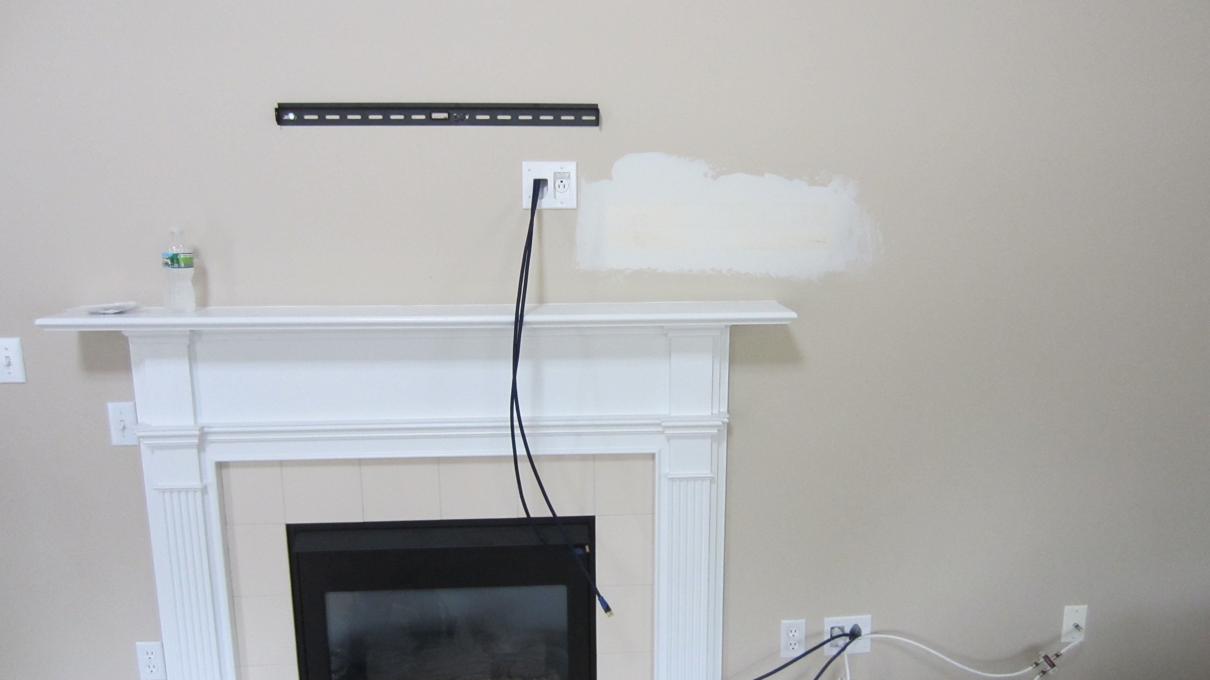 Pin On Tv Above Fireplace