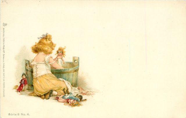 """""""MAKE DO DOLLS"""": American Artist Frances Brundage 1854-1937"""