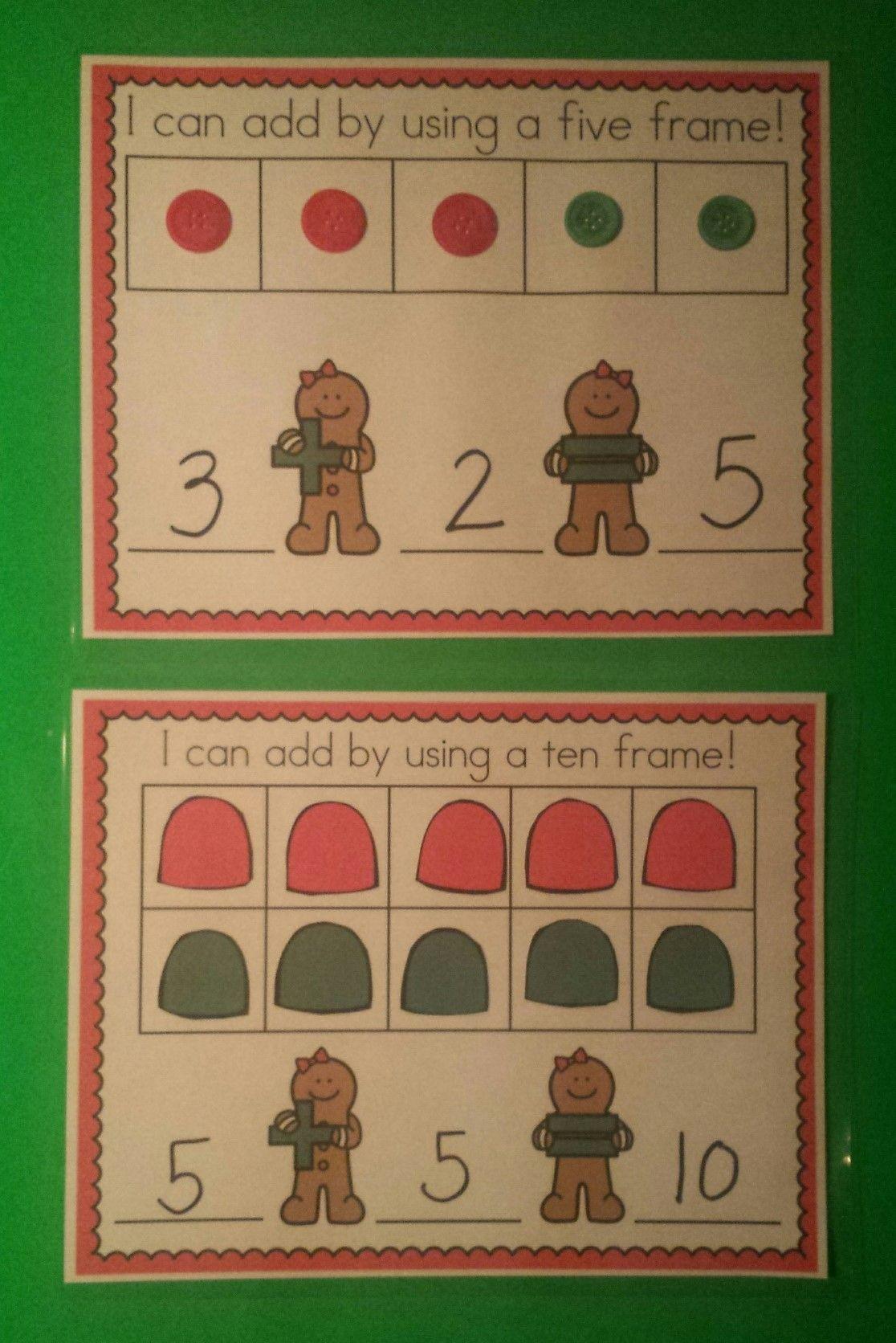 Happy Gingerbread Math Fun