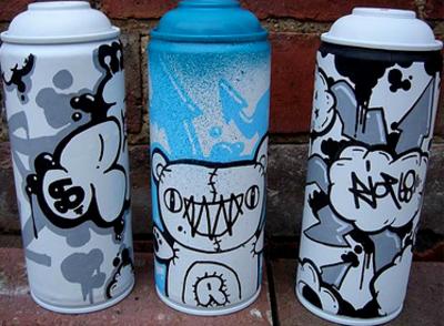Graffiti Cans Psd45628 Png 400 294 Stencil Street Art Spray Can Art Graffiti Art
