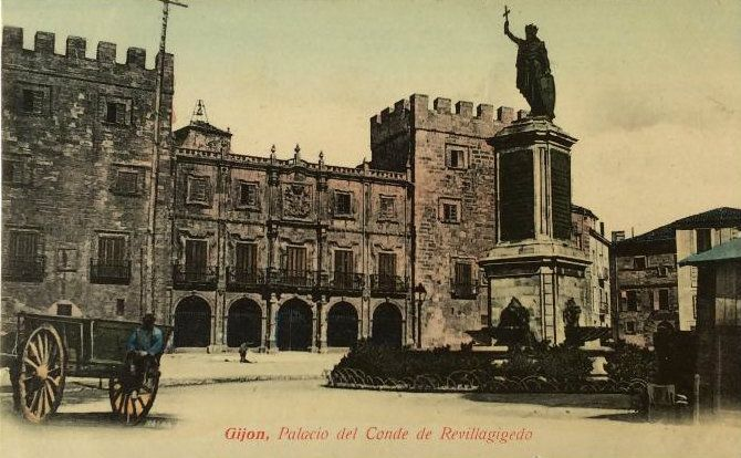 Gijón- Palacio de Condes de Revillagigedo