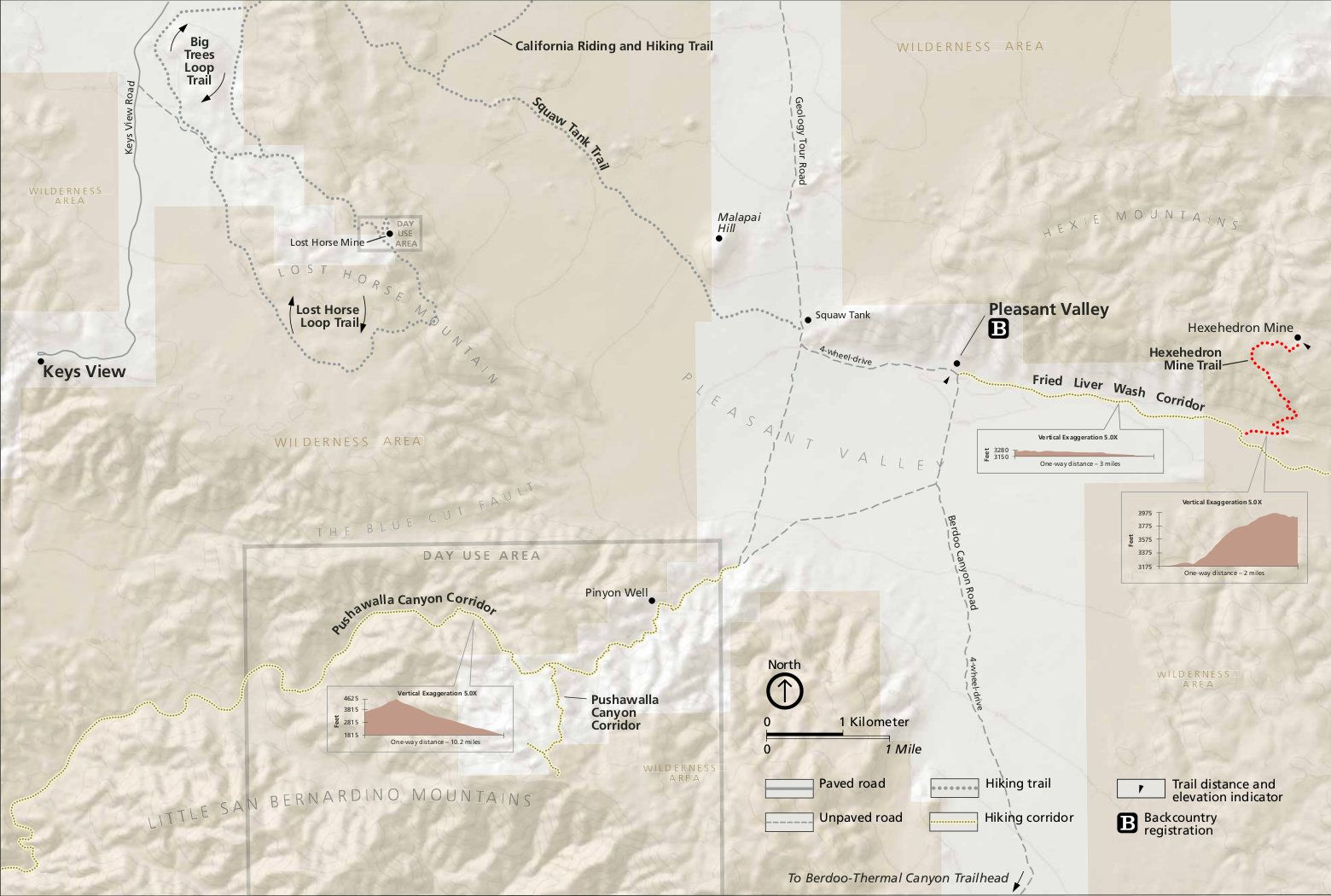 Pin By National Park Maps On Joshua Tree National Park Maps