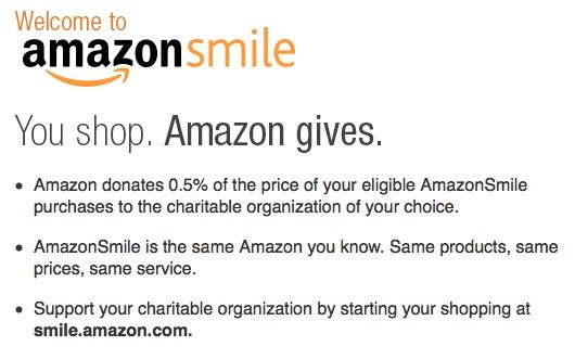 Amazon Smile Support Your Favorite Charities While You Shop