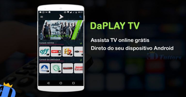 Daplay Tv Apk Melhor Aplicativo Para Assistir Tv Online Gratis