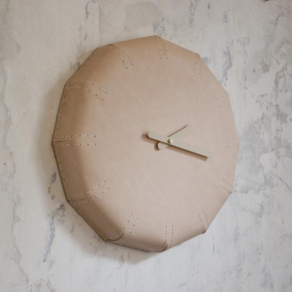 Noon leather wall clock 50 cm things that i love pinterest noon leather wall clock 50 cm amipublicfo Gallery