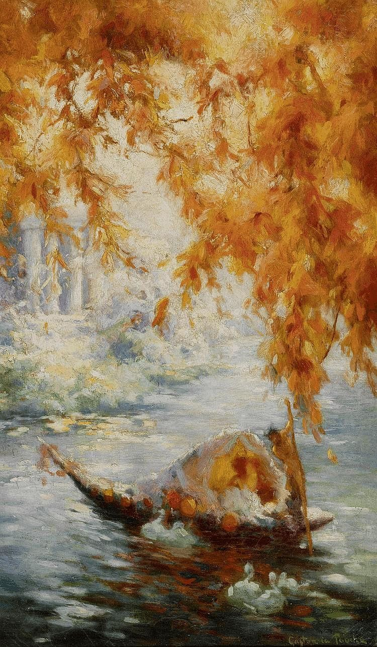La Temple de l'Amour Gaston la Touche (French, 1854