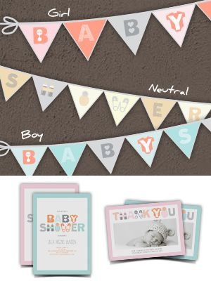 Free Printable Baby Shower Banner - Smilebox baby shower free