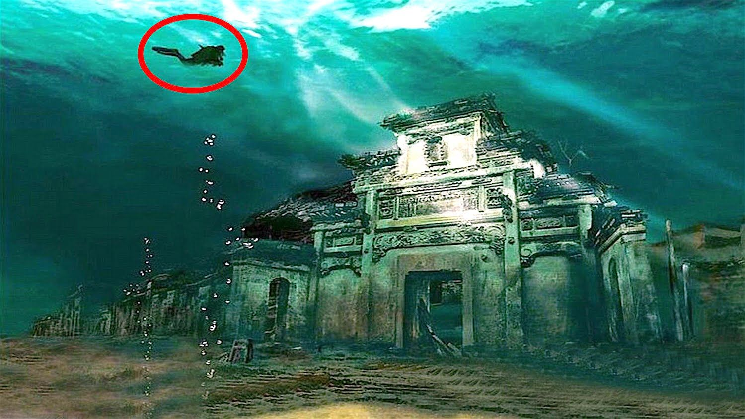 Here Is The Top List Of Mysterious Sunken Underwater Cities In The World Found Underwater These Str Underwater City Ancient Underwater Cities Abandoned Places
