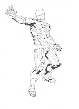 Tony Stark Coloring Page Super Coloring Coloring Pages Superhero Kids Stark