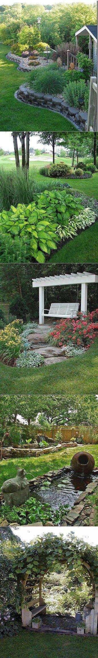 Как самому сделать красивый дизайн дачного участка: 12 советов профессионалов #flowerbeds