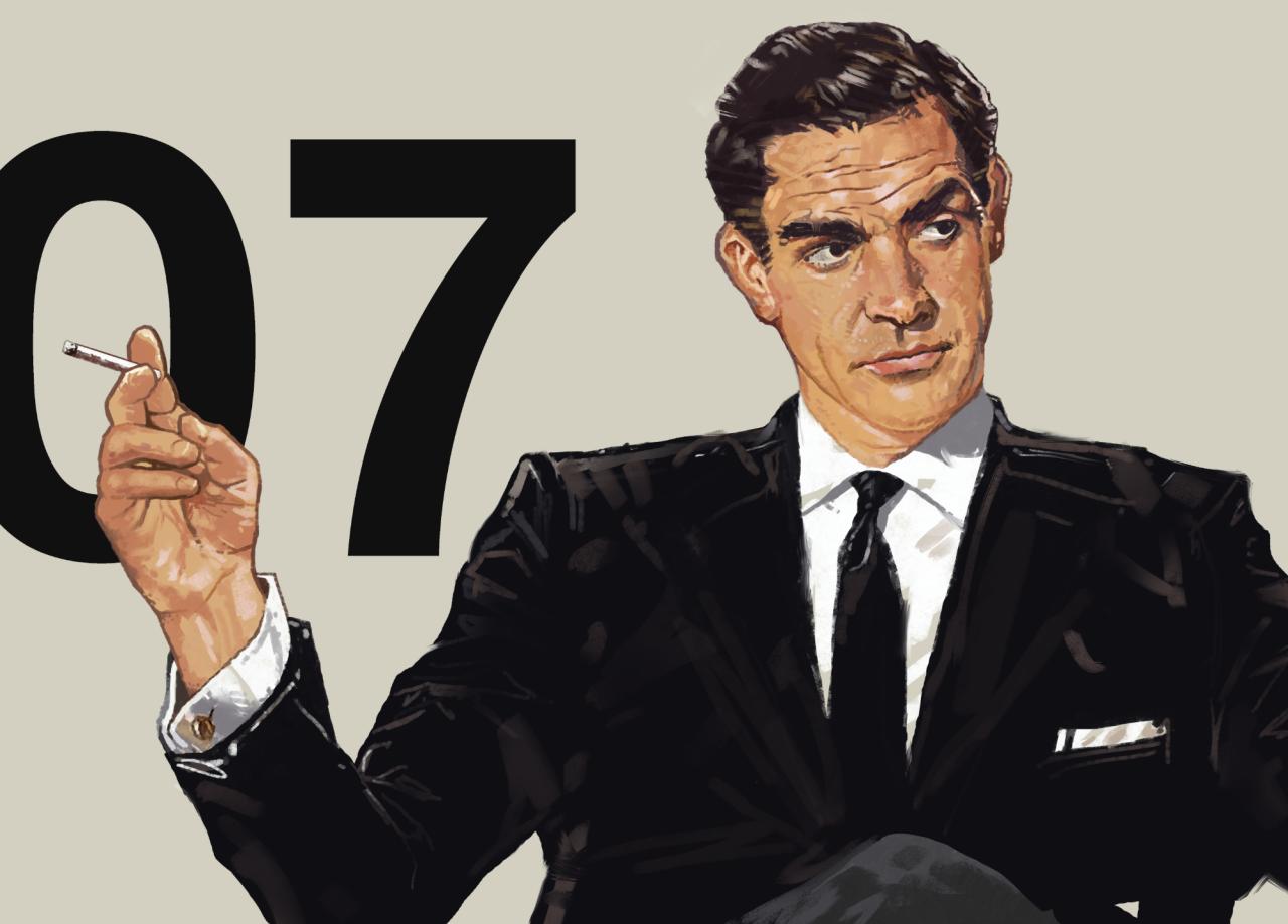 James Bond by Dave Seguin