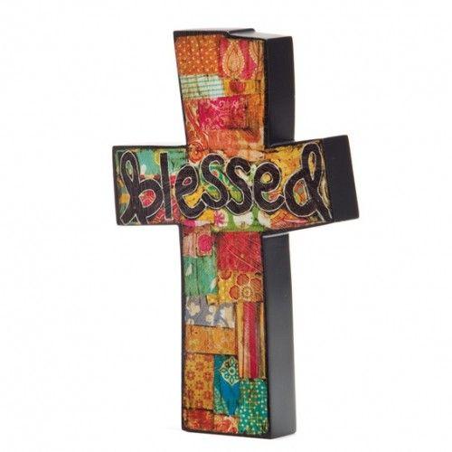 Blessed-Colorful-Wooden-Cross-e1383939473583.jpg (500×500)