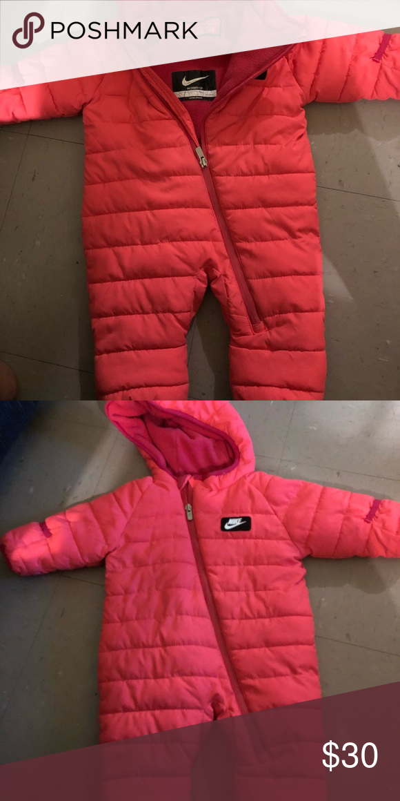 ceb86ede1 Baby Girl Nike s Snow Suit