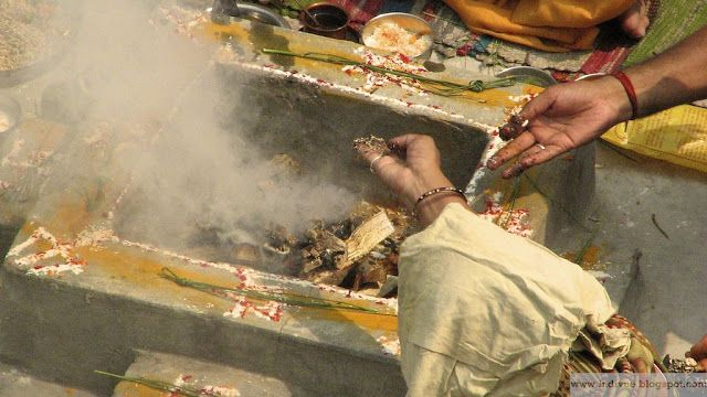 Havan in Delhi, India