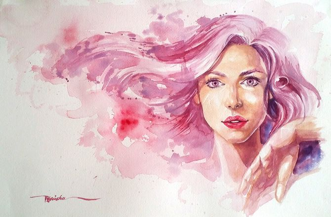 Approach Watercolor Painting As A Beginner Watercolor Portraits