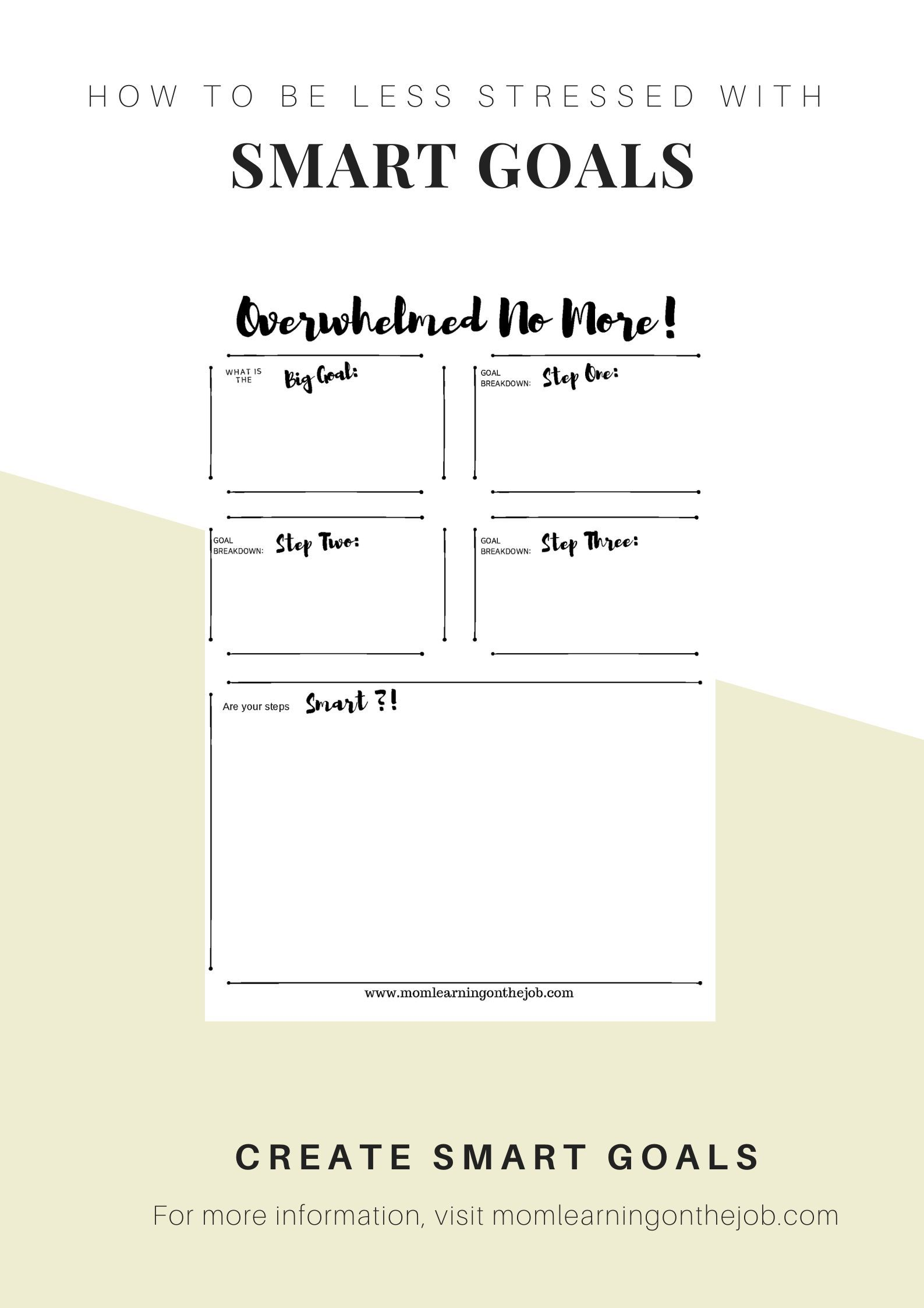 Personal Goal Setting Examples Free Template