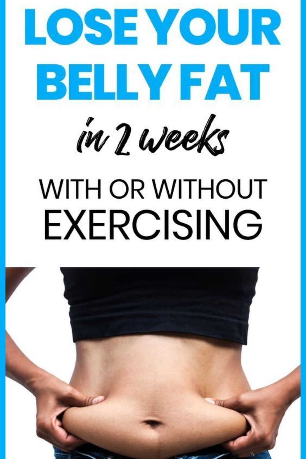 Want to know how to lose belly fat fast and get a flat stomach once and for all?