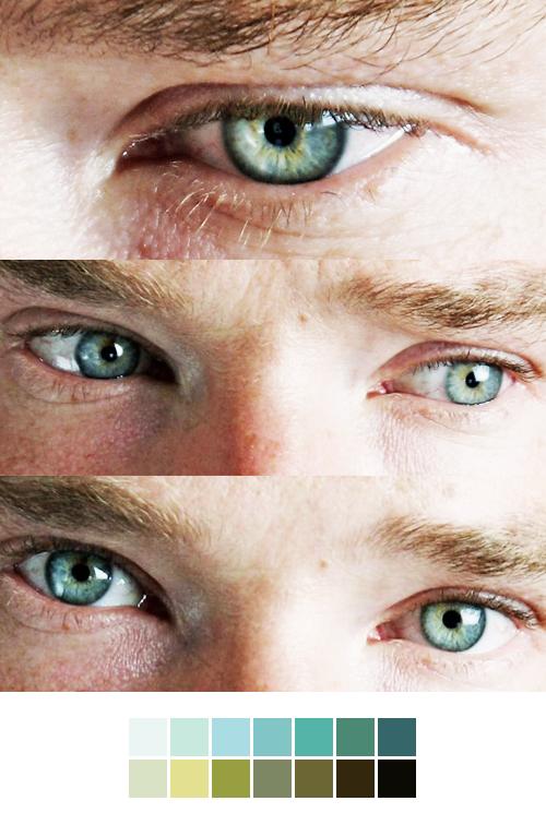 Benedict cumberbatch eye color