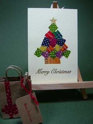 簡単クリスマスカード てるたまごdiary クリスマスカード 手作り クリスマスカード カード 手作り