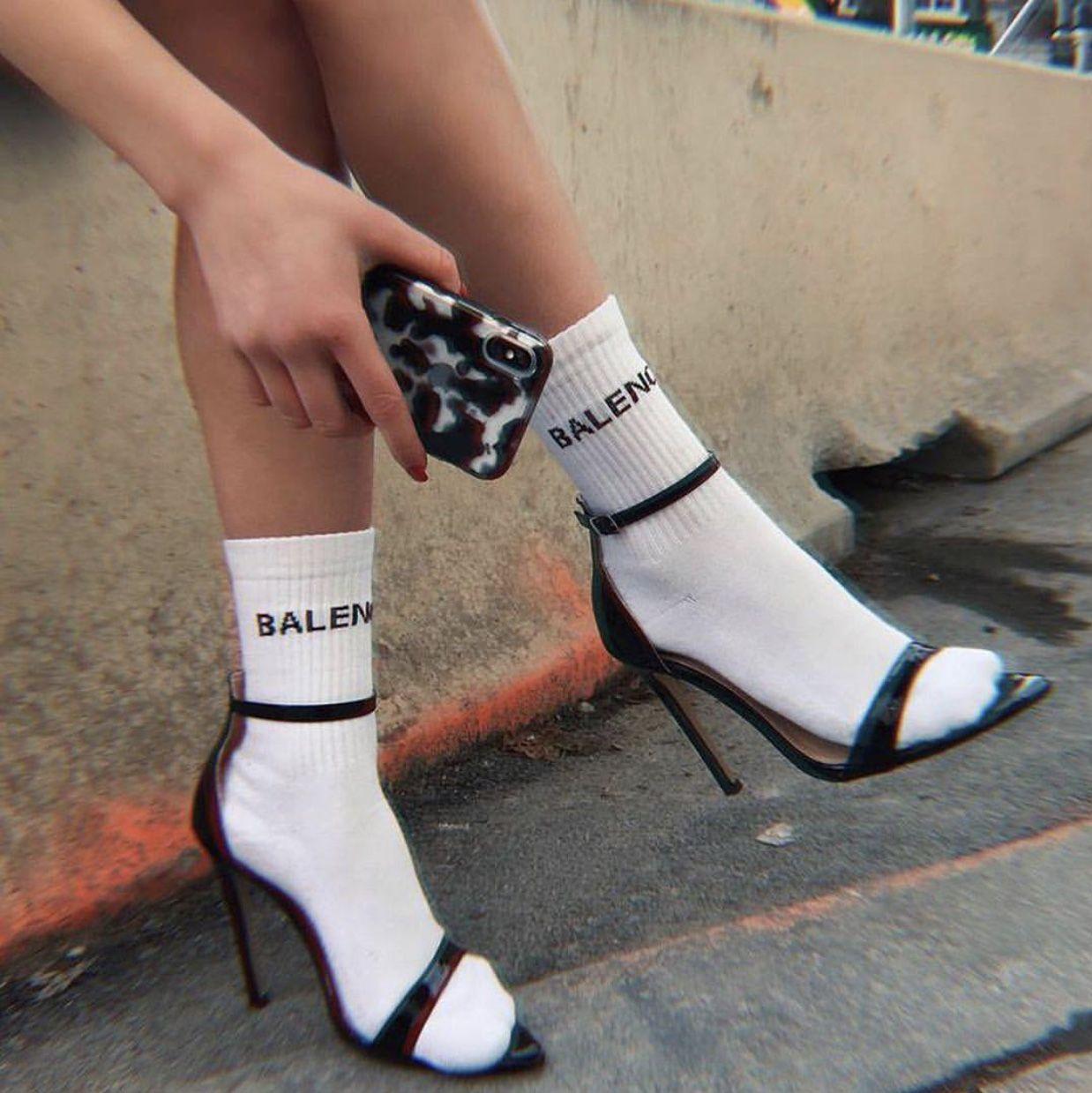 Pin By Sxrna On Shoe Game Socks And Heels Heels Stiletto Heels