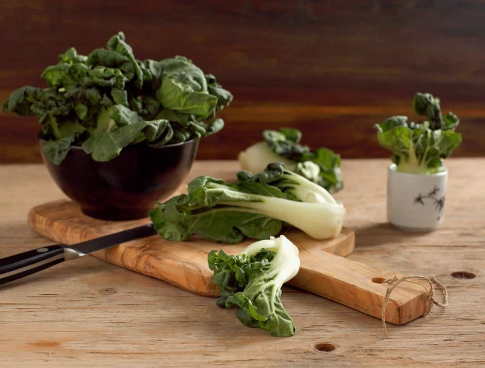 how to store bok choy in the freezer