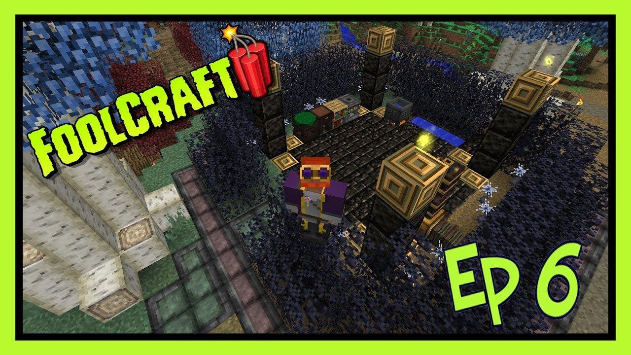 Modded Minecraft 1 12 2: Foolcraft 3 - Ep 6 Sorcerer's