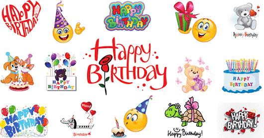 Birthday Emoticons Emojis Pinterest Symbols