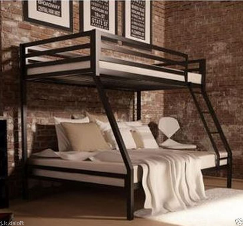 Best Twin Over Full Furniture Ladder Metal Bunk Bed Kid Bedroom 400 x 300