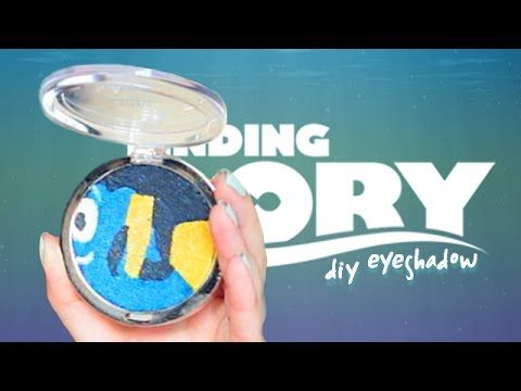 DIY Finding Dory Eyeshadow Palette | SofiaStyled
