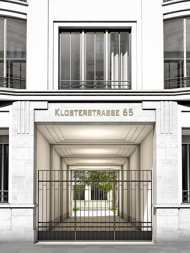 klosterstrasse 65 hilmer sattler architekten architecture classic in 2019 pinterest. Black Bedroom Furniture Sets. Home Design Ideas