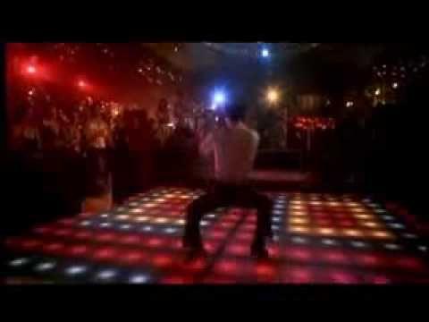 Bee Gees - You Should Be Dancing (+lista de reproducción) Mire la película 3 veces y todos en la universidad bailaba hustle. Hace 35 años.