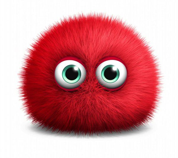 Red Monster~ #cute