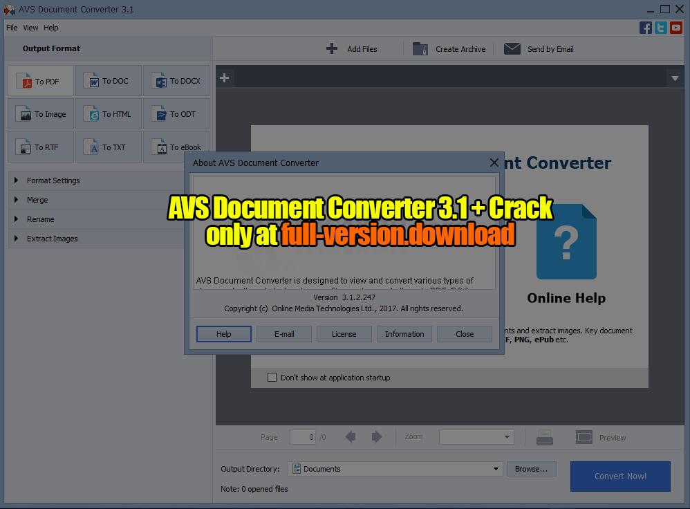 AVS Document Converter 3.1 Crack Full Version – Full Version Download