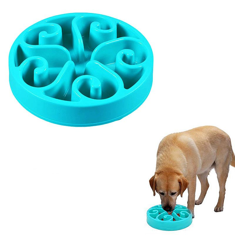 Wholesale Pet Dog Interactive Maze Slow Food Bowl Healthy Anti