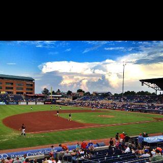 Durham Bulls Game Baseball Park Baseball Field Park