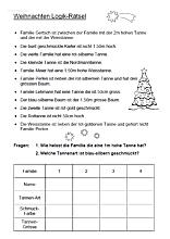 Weihnachtslogical Ein Sehr Schwieriges Ratsel Fur Die Weihnachtszeit Math For Kids Learn German Advent Calenders
