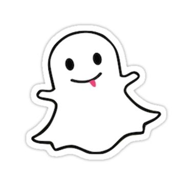 Snapchat Logo By Jackiesco Snapchat Logo Snapchat Stickers Logo Sticker