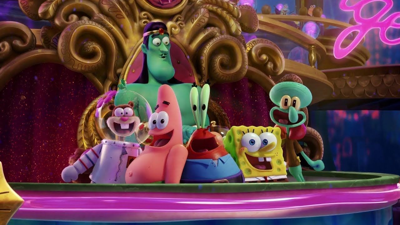 The Spongebob Movie Sponge On The Run - Light It Up