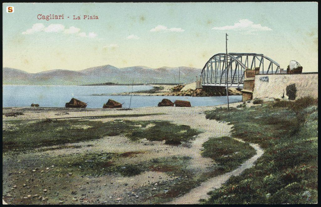Cagliari il ponte della Scafa
