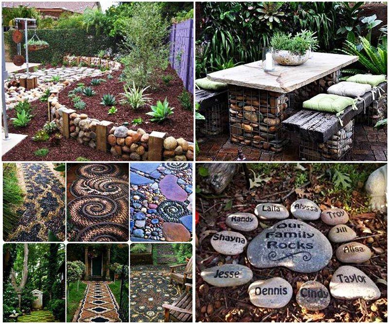 Easy DIY Garden Projects with Stones - Quiet Corner Garden Design, Garden Ideas, Diy Garden, Garden
