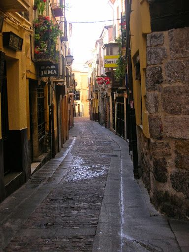 Calle de los Herreros. Zamora, (España).