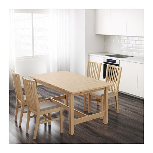 NORDEN Mesa extensible Abedul 155/210 x 90 cm | CASA | Table, Dining ...