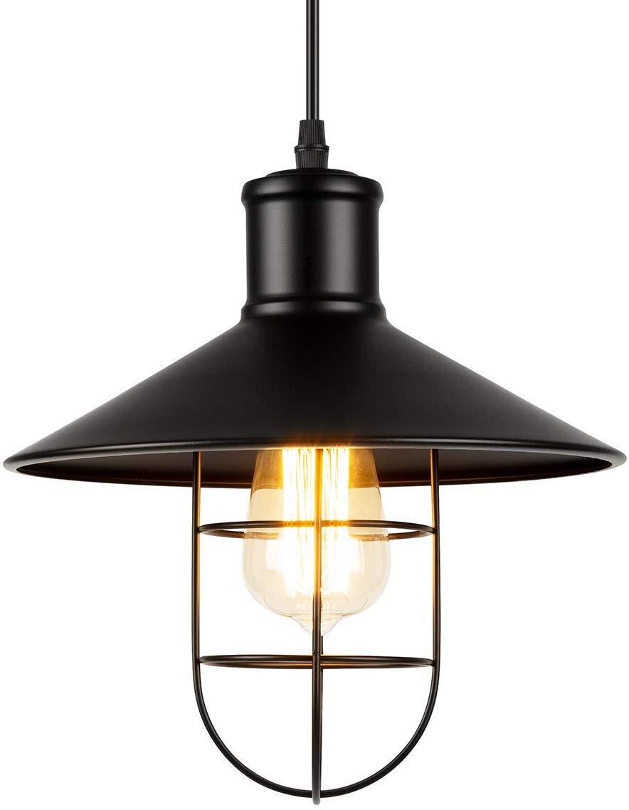 Ggalumi Retro Industrial Pendant Light Vintage Amazon De Beleuchtung Industrial Pendant Lights Ceiling Lights Vintage