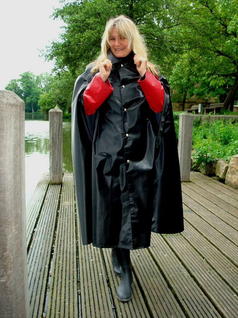 rubberised raincape - Google zoeken