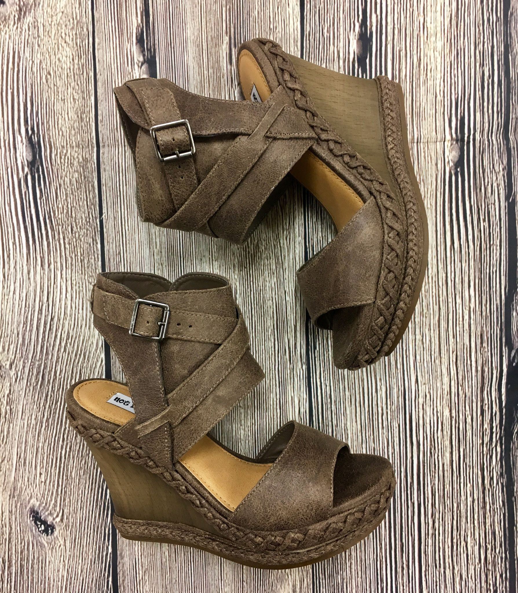 Not Rated Lubbock Wedge Sandals Wedge Sandals Jewels Clothing Wedges