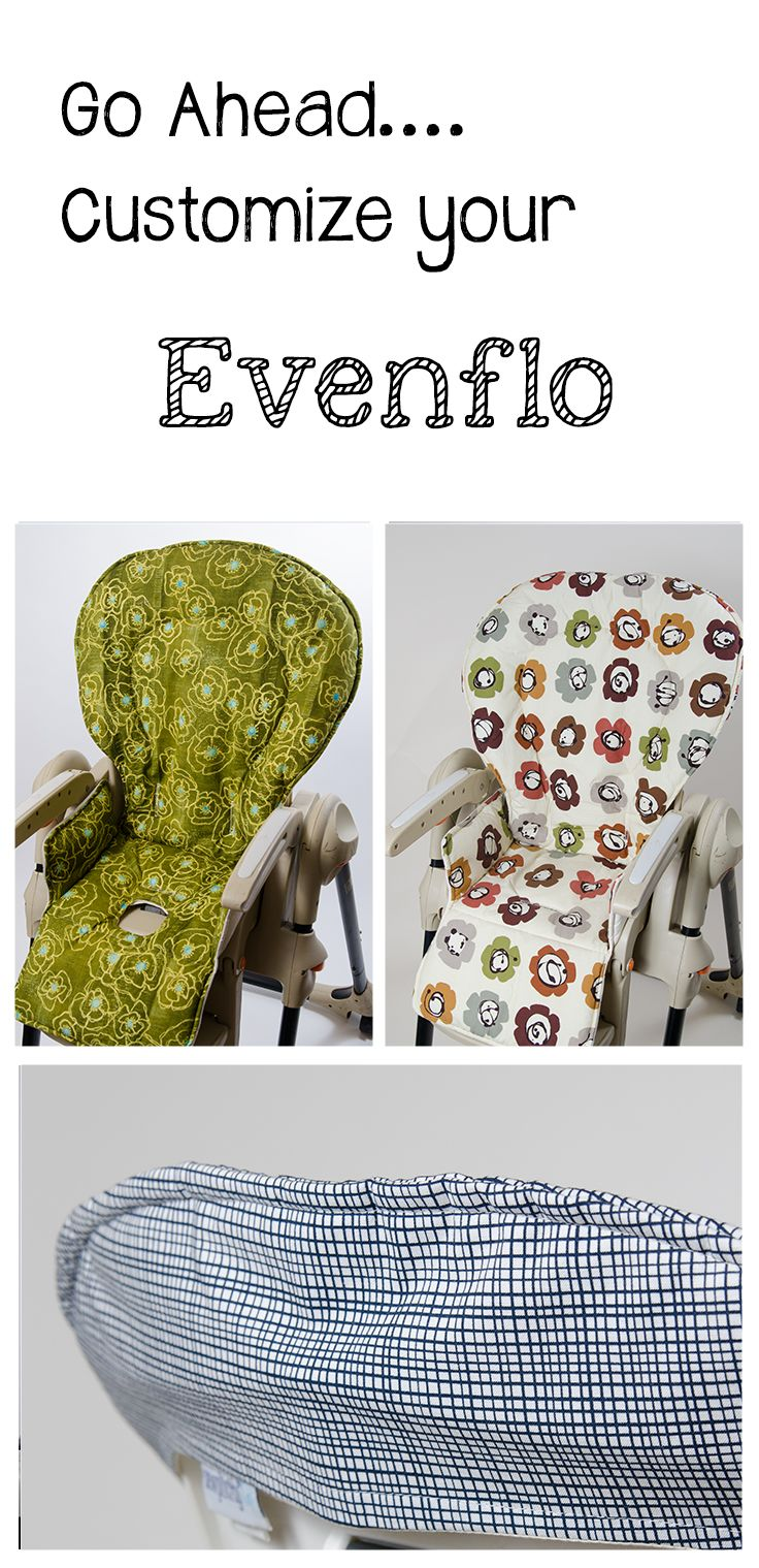 Handmade and stylish replacement high chair covers for Evenflo. www ...