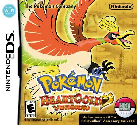 Pokemon Heartgold- released in North America in 2010.