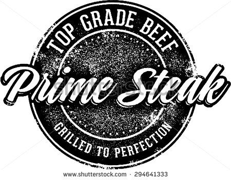 Top Grade Steak Stamp
