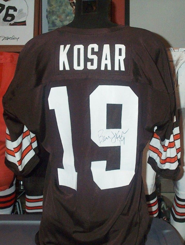 wholesale dealer 574e5 0b517 SIGNED GAME-USED Bernie Kosar jersey | Vintage JERSEYS ...