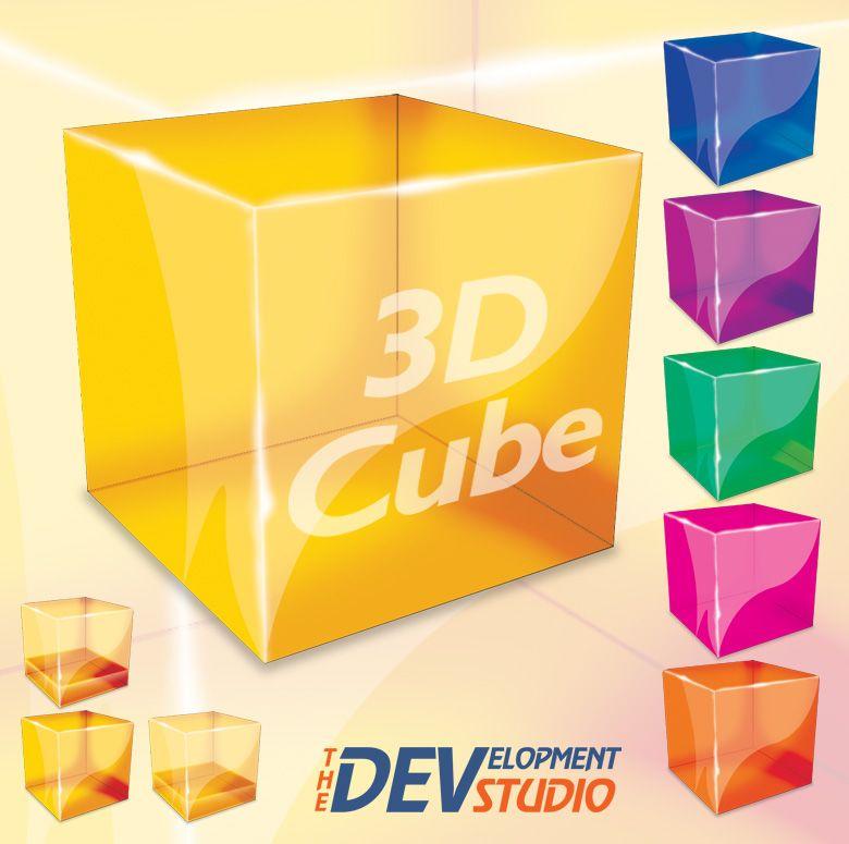 Photoshop 3d Cube By Thedevstudio Deviantart Com 3d Cube Cube Cube Design